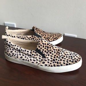 Gap Cheetah Print Slip-On Sneakers